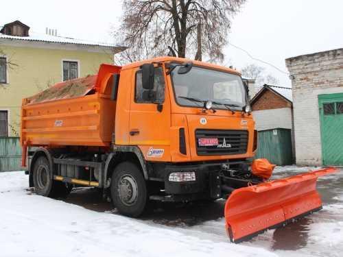 Ивано-Франковск перешел на коммунальную технику МАЗ - МАЗ