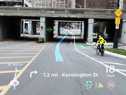 Panasonic представил голографический Head-Up дисплей с искусственным интеллектом