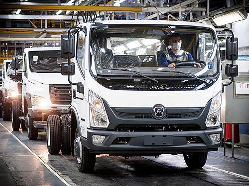 На ГАЗе стартовало производство нового бескапотного грузовика Валдай NEXT