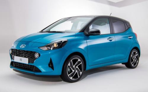 В Украине стартуют продажи абсолютно нового Hyundai i10