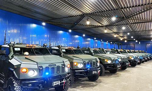 Нацгвардия получила партию бронеавтомобилей «Новатор»