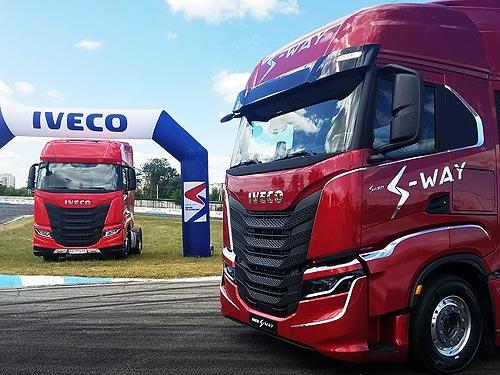 Стали известны показатели расхода топлива у нового грузовика  IVECO S-Way