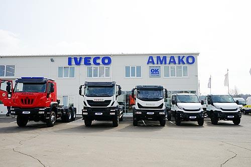 IVECO представила в Украине всю гамму полноприводной техники - IVECO