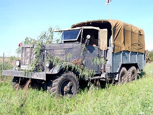 Автомобили Великой отечественной войны были замечены в Киеве