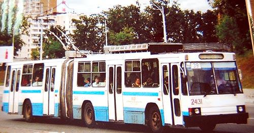 Экскурс в историю: киевский троллейбус был действительно киевским - троллейбус