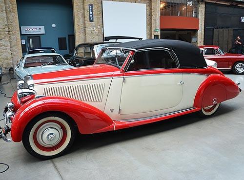 Музей Берлин Classic Remise: сказочное место, где Rolls-Royce стоит дешевле Citroen