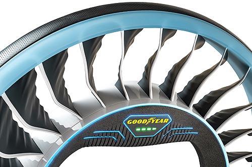 Goodyear представила концепт шины для автономных и летающих автомобилей - Goodyear