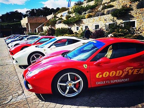 Быстрым авто нужны хорошие шины. Компания Goodyear презентовала 4 летние новинки - Goodyear