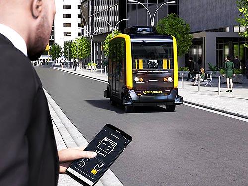 """Continental разрабатывает интерфейс взаимодействия """"человек-машина"""" для робомобилей"""
