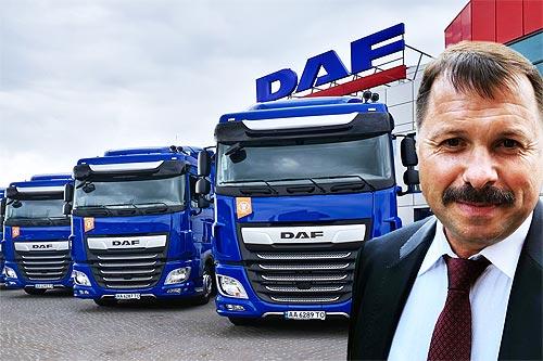 """DAF в украинских реалиях: директор компании """"Барва Авто"""" - с DAF мы зарабатываем больше"""