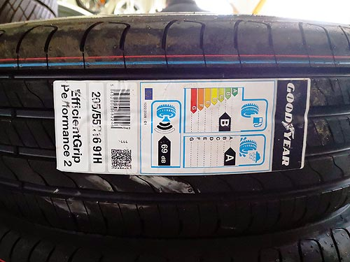 Итоги Теста летних шин Goodyear EfficientGrip Performance 2 - Goodyear