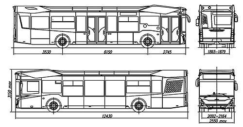 МАЗ уже подготовил к выпуску 8 модификаций автобусов нового поколения МАЗ 303 - МАЗ