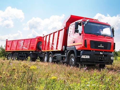 В Украине начали принимать заказы на 20-тонные самосвалы МАЗ по специальной цене - МАЗ