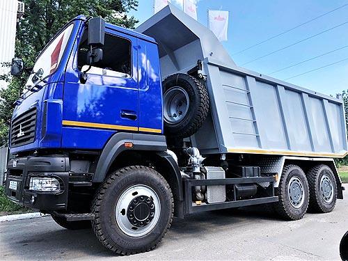 МАЗ в Украине активизируется в сегменте строительных самосвалов - МАЗ