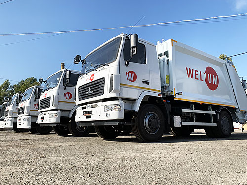 На украинский рынок вышли новые мусоровозы Karba турецкого производства