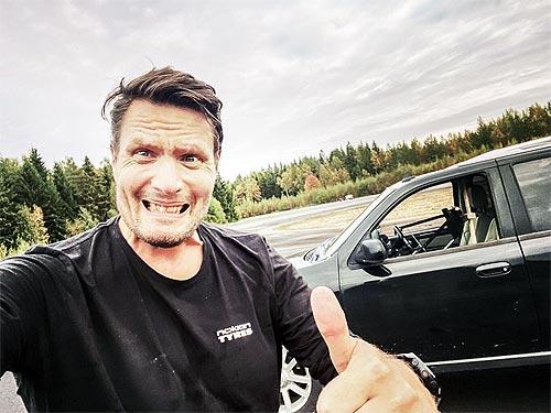 С помощью шин Nokian Tyres был установлен новый необычный мировой рекорд - Nokian