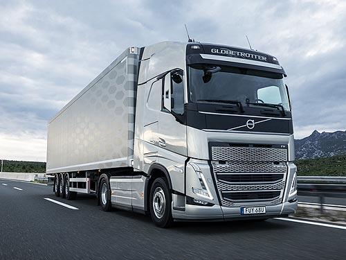 Новое поколение Volvo FH на реальном маршруте показывает расход топлива 22,70 л/100 км