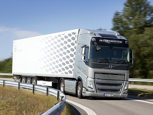 Volvo FH нового поколения с технологией I-Savе стал лидером по экономичному потреблению топлива