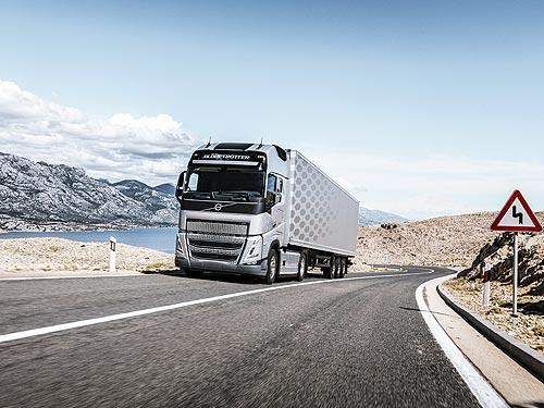 Volvo FH нового поколения с технологией I-Savе стал лидером по потреблению топлива - Volvo