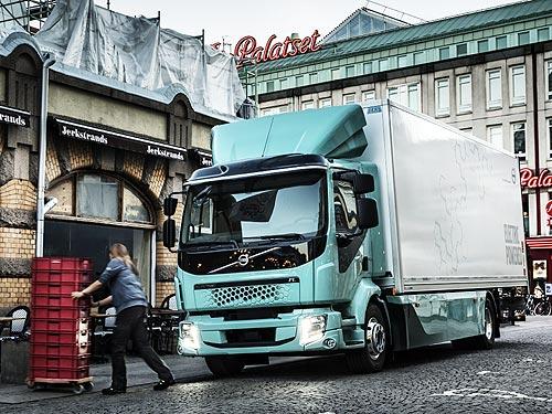 В 2021 году стартуют продажи полностью электрических грузовиков Volvo Trucks
