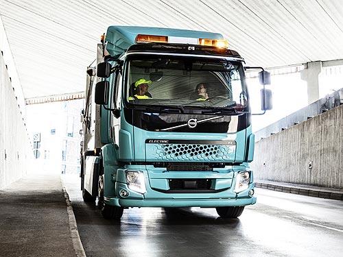 В 2021 году стартуют продажи полностью электрических грузовиков Volvo Trucks - Volvo