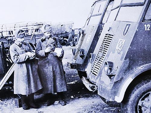 Какие трофейные автомобили были на службе в Красной Армии во время Второй мировой войны