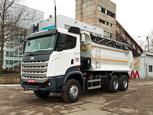 На украинский рынок вышел новый производитель тяжелых грузовиков - BMC