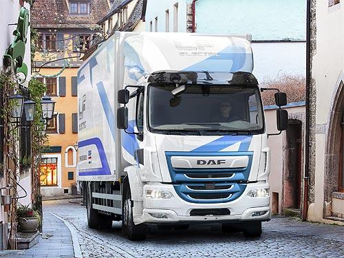 Представлен электрический DAF LF Electric с запасом хода до 280 км