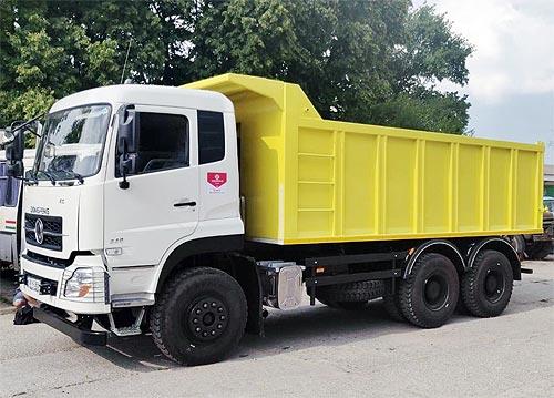 В Украине продан очередной самосвал Dongfeng с кузовом с подогревом