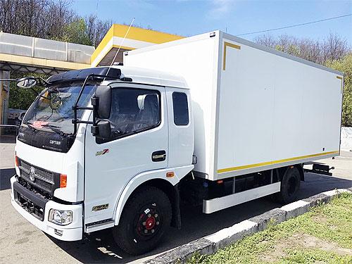 В Украине доступен Dongfeng DFA 1090 с изотермическим кузовом по специальной цене - Dongfeng