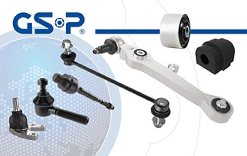 GSP предлагает детали подвески для быстрого и доступного ремонта