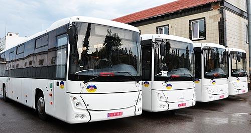 Оператор ГТС Украины получил партию автобусов МАЗ 231062