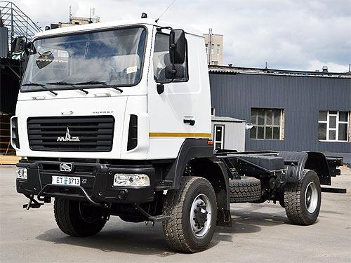 В Украину начались поставки облегченного полноприводного шасси МАЗ в качестве замены ГАЗ-66 - МАЗ