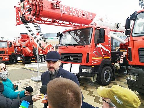 МАЗ представил новый автокран - МАЗ