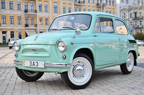 Сделано в Украине: на OldCarLand покажут первые украинские автомобили - OldCarLand