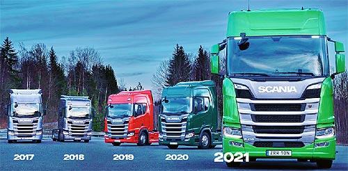 Scania пятый год подряд одержала победу в конкурсе «Green Truck» - Scania