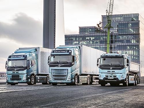 Уже в этом году стартуют продажи полностью электрических крупнотоннажных грузовиков Volvo FH, Volvo FM и Volvo FMX