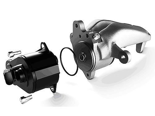 В ассортименте ZF появился ремкомплект электрического стояночного тормоза
