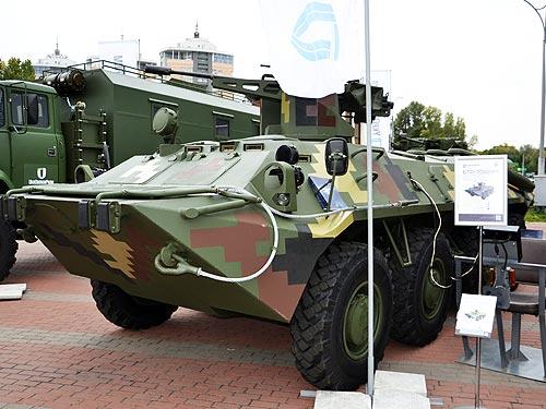 В Украине представили обновленный БТР-70Д с мотором General Motors