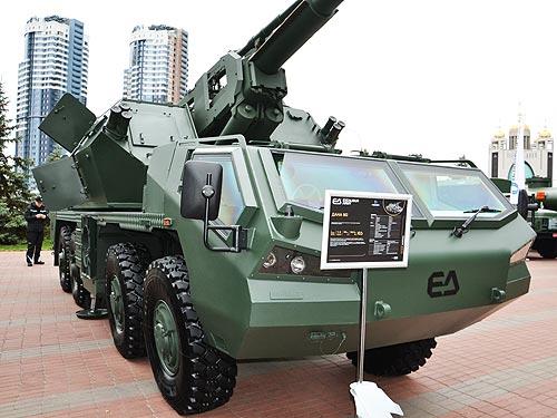 Украинский ВПК рассматривает шасси Tatra в качестве носителей перспективных вооружений