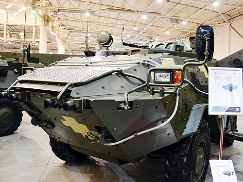 В Украине представили БРМ «Мангуст» - БРМ