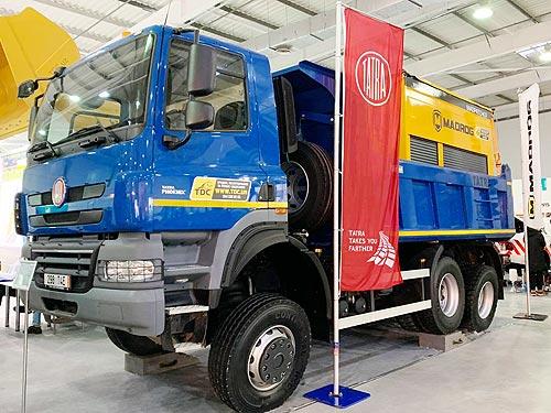 Самосвалы Tatra продолжают осваивать украинский рынок
