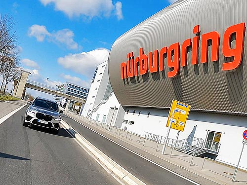 BMW X5M и M3: Путешествие на Нюрбургринг