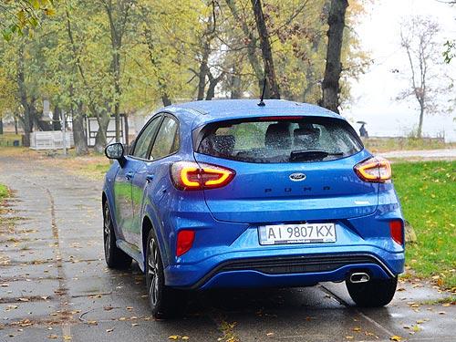 Как проявил себя самый драйвовый компактный кроссовер на украинских дорогах. Тест-драйв Ford Puma - Ford