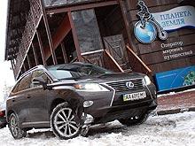 Тест-драйв Lexus RX 450H: Испытываем гибрид в морозы - Lexus