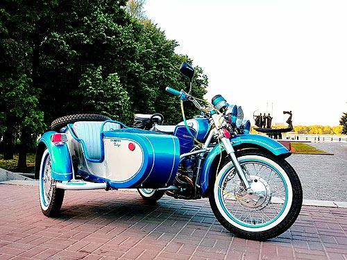 Тест-драйв мотоцикла Днепр Винтаж: Финальный отсчет  - Днепр