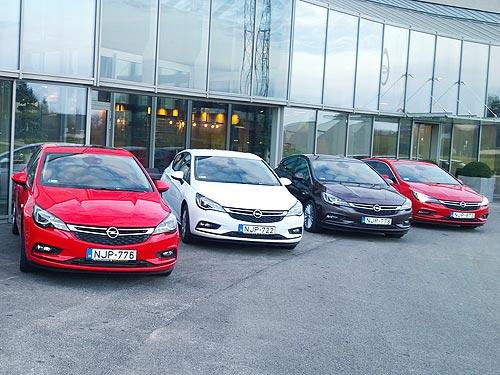Тест-драйв Opel Astra K. Технология квантового скачка