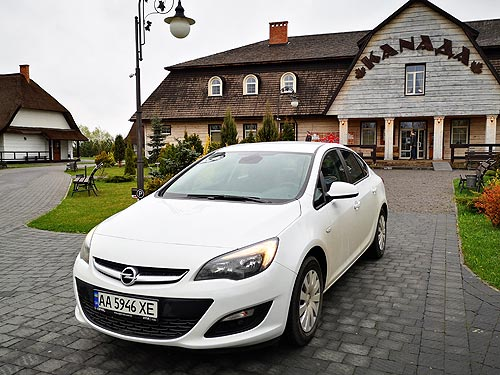 Доступный немецкий седан возвращается. Тест-драйв Opel Astra K - Opel
