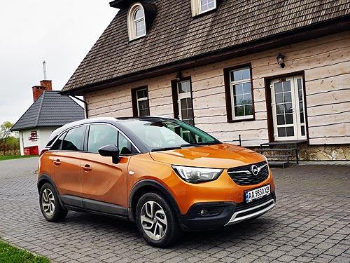 Немецкие и французские секреты у самого доступного кроссовера Opel. Тест-драйв Opel Crossland X