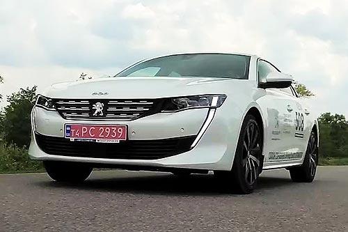 Тест-драйв Peugeot 508. Саблезубый «Лев» кусает конкурентов